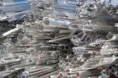Aluminum scrap — Stock Photo