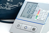 Electronic sphygmomanometer — Stock Photo