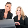 Stock Photo: Business women in office