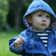 Child in the grass — Stock Photo #2183446
