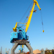 Rail crane — Stock Photo