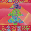 Stock Photo: Batik christmas tree