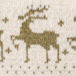 Knitted reindeers pattern — Stock Photo