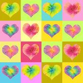 Valentin heart background — Foto de Stock