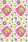 Batik circles pattern — Stock Photo