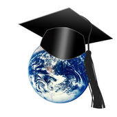 Learning planet — Stock Photo