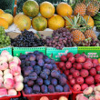 Different fresh fruits — Stock Photo