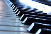 Piano keys — Stock Photo