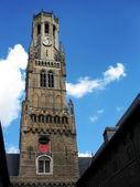 Belfry (bell tower) of Bruges. — Stock Photo
