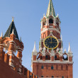 Stock Photo: Russimoscow kremlin,Spasskay/ Saviour Tower