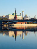 Russia moscow kremlin — Stock Photo