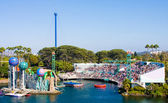 Seaworld Horizontal View Open Aquarium — Stock Photo