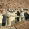 Stock Photo: Hoover Dam Hydro Power Plant