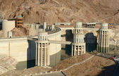 Hoover Dam Hydro Power Plant — Stock Photo