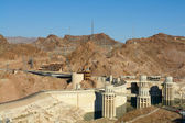 Hoover Dam and Power Lines — Stock Photo