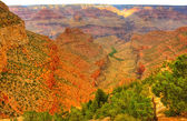 Grand Canyon Pesudo HDR — Stock Photo