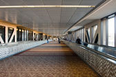 Airport Walkway Corridor — Stock Photo