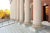 Harvard Library Entrance And Steps — Stock Photo