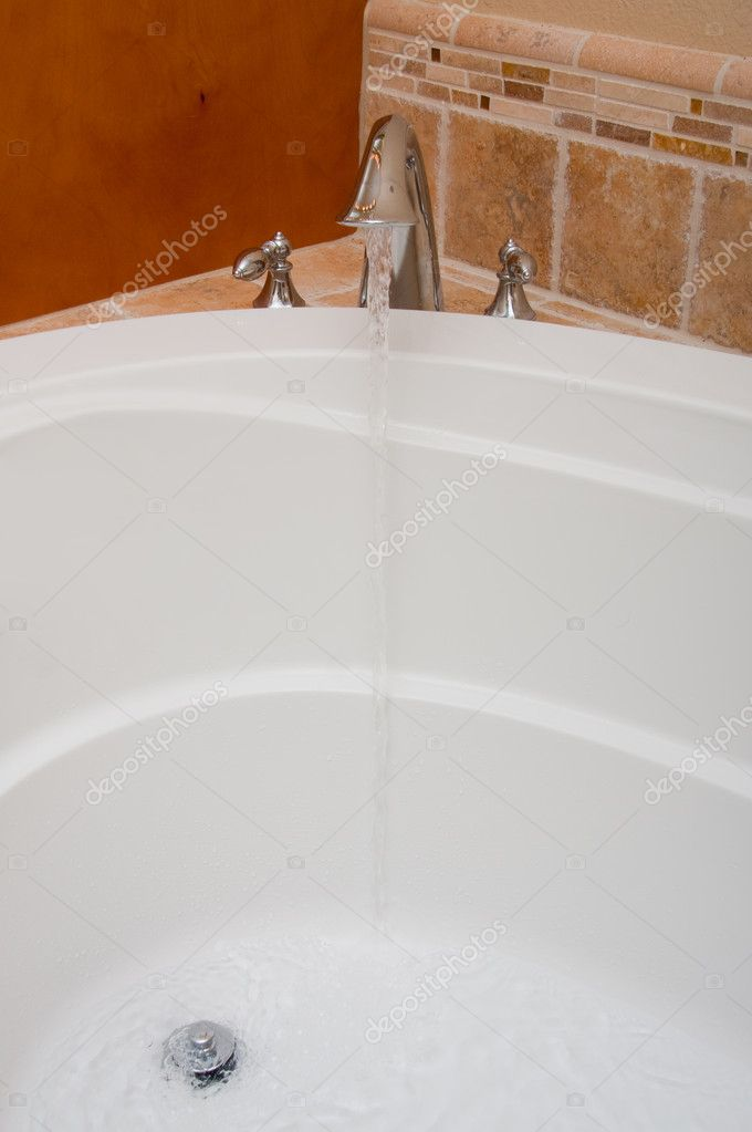 Open Faucet Water Bath Jacuzzi Vertical | Stock Photo © N Petrov #