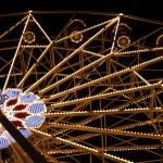 Big Fairy Ferris Wheel Park At Night — Stock Photo #2243409