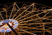 Big Fairy Ferris Wheel Park At Night — Stock Photo