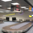 Vertical Airport Baggage Claim Carousel — Stock Photo #2452036