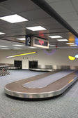 Vertical Airport Baggage Claim Carousel — Stock Photo