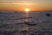Sunrise on the sea — Stock Photo