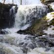 Rough falls in the spring — Stock Photo