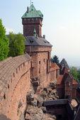 Haut-Koenigsbourg castle — Stock Photo