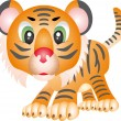Royalty-Free Stock Vector Image: Tiger vector