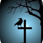 Raven vector — Stock Vector #2237169