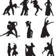 Dance vector — Vettoriale Stock #2237453