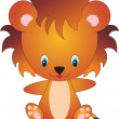 Lion vector — Stock Vector