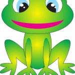 Frog vector — Stock Vector #2237757