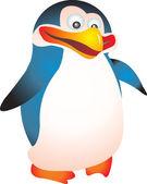 Pinguin-vektor — Stockvektor