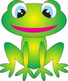 Frog vector — Stock Vector