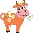Cow vector — Stock Vector #2478843