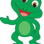 Frog vector — Stock Vector #2479843