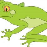 Frog vector — Stock Vector #2479848