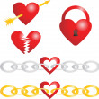 Royalty-Free Stock Vector Image: Heart vector