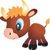Bull vector — Stock Vector