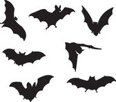 Bats vector — Stock Vector