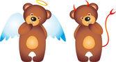 Bear vector — Stock Vector