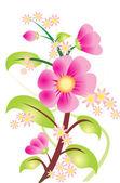 Flower vector — Stock Vector