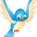 Bird vector — Stock Vector #2480102