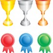 Royalty-Free Stock Vector Image: Awards vector