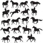 Horse vector — Stock Vector #2480214