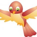 Bird vector — Stock Vector #2480285