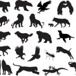 vector de animales — Vector de stock